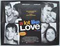 A LOT LIKE LOVE Cinema Quad Movie Poster