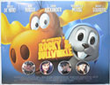THE ADVENTURES OF ROCKY AND BULLWINKLE Cinema Quad Movie Poster