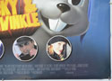 THE ADVENTURES OF ROCKY AND BULLWINKLE (Bottom Right) Cinema Quad Movie Poster