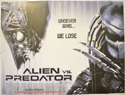 ALIEN VS PREDATOR Cinema Quad Movie Poster