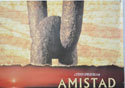 AMISTAD (Top Right) Cinema Quad Movie Poster