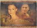 ANNA AND THE KING Cinema Quad Movie Poster