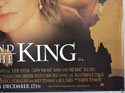 ANNA AND THE KING (Bottom Right) Cinema Quad Movie Poster