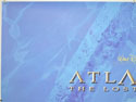 ATLANTIS : THE LOST EMPIRE (Top Left) Cinema Quad Movie Poster