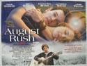 AUGUST RUSH Cinema Quad Movie Poster