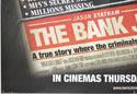 THE BANK JOB (Bottom Left) Cinema Quad Movie Poster
