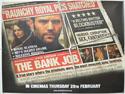 THE BANK JOB Cinema Quad Movie Poster
