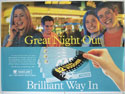 BARCLAYS 1997 ADVERTISING POSTER - GREAT NIGHT OUT Cinema Quad Movie Poster