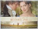 BECOMING JANE Cinema Quad Movie Poster