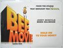BEE MOVIE Cinema Quad Movie Poster