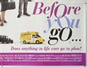 BEFORE YOU GO (Bottom Right) Cinema Quad Movie Poster