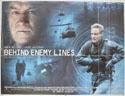 BEHIND ENEMY LINES Cinema Quad Movie Poster