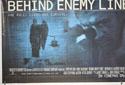 BEHIND ENEMY LINES (Bottom Left) Cinema Quad Movie Poster