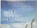 THE BOY IN THE STRIPED PYJAMAS (Top Left) Cinema Quad Movie Poster