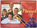BRASSED OFF Cinema Quad Movie Poster