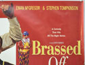 BRASSED OFF (Top Right) Cinema Quad Movie Poster