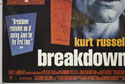 BREAKDOWN (Bottom Left) Cinema Quad Movie Poster