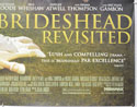 BRIDESHEAD REVISITED (Bottom Right) Cinema Quad Movie Poster