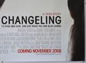 CHANGELING (Bottom Right) Cinema Quad Movie Poster