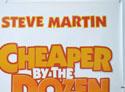 CHEAPER BY THE DOZEN (Top Right) Cinema Quad Movie Poster