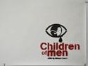 CHILDREN OF MEN (Bottom Right) Cinema Quad Movie Poster
