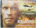 COLLATERAL DAMAGE Cinema Quad Movie Poster