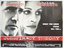 CONSPIRACY THEORY Cinema Quad Movie Poster