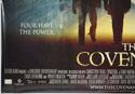 THE COVENANT (Bottom Left) Cinema Quad Movie Poster