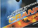 CRANK (Bottom Left) Cinema Quad Movie Poster