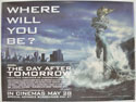 THE DAY AFTER TOMORROW Cinema Quad Movie Poster