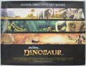 DINOSAUR Cinema Quad Movie Poster