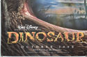 DINOSAUR (Bottom Left) Cinema Quad Movie Poster
