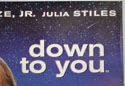DOWN TO YOU (Top Right) Cinema Quad Movie Poster
