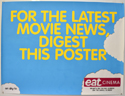 EAT CINEMA <p><i> (TV Channel Advertising Poster) </i></p>