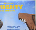 EVAN ALMIGHTY (Top Right) Cinema Quad Movie Poster