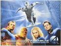 FANTASTIC FOUR : RISE OF THE SILVER SURFER Cinema Quad Movie Poster