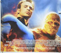FANTASTIC FOUR : RISE OF THE SILVER SURFER (Bottom Left) Cinema Quad Movie Poster