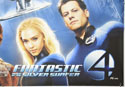 FANTASTIC FOUR : RISE OF THE SILVER SURFER (Bottom Right) Cinema Quad Movie Poster