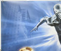 FANTASTIC FOUR : RISE OF THE SILVER SURFER (Top Left) Cinema Quad Movie Poster