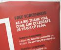 FILM FOUR (Top Right) Cinema Quad Movie Poster
