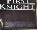 First Knight (Bottom Right) Cinema Quad Movie Poster