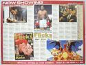 FLICKS APRIL 2000 Cinema Quad Movie Poster
