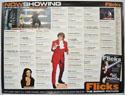 FLICKS AUGUST 1999 Cinema Quad Movie Poster