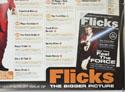 FLICKS AUGUST 1999 (Bottom Right) Cinema Quad Movie Poster