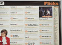 FLICKS AUGUST 1999 (Top Right) Cinema Quad Movie Poster