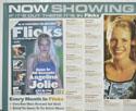 FLICKS AUGUST 2000 (Top Left) Cinema Quad Movie Poster