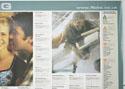 FLICKS AUGUST 2000 (Top Right) Cinema Quad Movie Poster