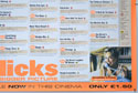 FLICKS DECEMBER 1999 (Bottom Right) Cinema Quad Movie Poster
