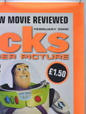 FLICKS FEBRUARY 2000 (Top Right) Cinema A1 Movie Poster