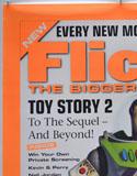 FLICKS FEBRUARY 2000 (Top Left) Cinema A1 Movie Poster